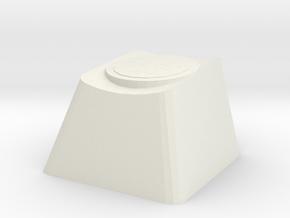 Overwatch Zenyatta Transcendence Cherry MX Key in White Natural Versatile Plastic