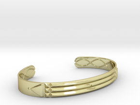 Atlantis Cuff Bracelet in 18k Gold: Small