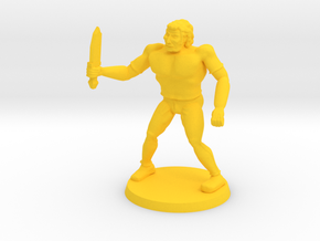 Drokk the Mercenary  in Yellow Strong & Flexible Polished