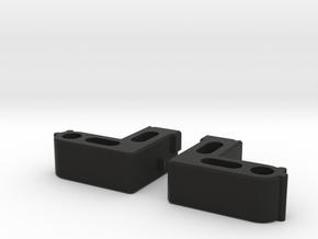 RedGreenShoulderFIX in Black Natural Versatile Plastic