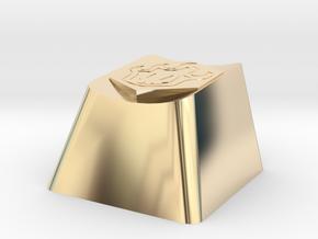 Bleach Cherry MX Keycap in 14k Gold Plated Brass