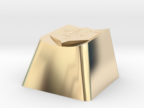 Razer Cherry MX Keycap in 14k Gold Plated Brass