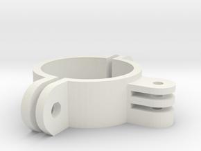 Rollbar GoPro Mount in White Natural Versatile Plastic
