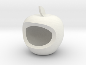 Apple Box Home Decoration - iDecoration in White Natural Versatile Plastic