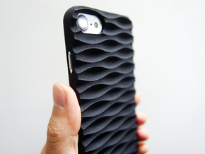 iPhone 7 & 8 Case_Seamless in Black Natural Versatile Plastic