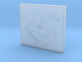 Smug Face in Smoothest Fine Detail Plastic