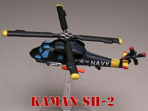 Kaman SH-2 Seasprite (two models) 1/285 6mm in White Natural Versatile Plastic