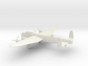 Avro Lancaster B.III in White Natural Versatile Plastic: 1:200