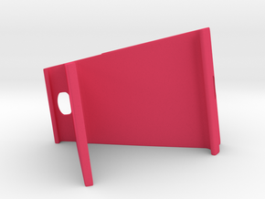 Stand for Tablet in Pink Processed Versatile Plastic