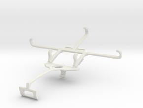 Controller mount for Xbox One S & Alcatel Pop 2 (5 in White Natural Versatile Plastic