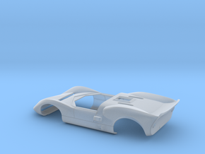 1/40 Chaparral 2C in Smooth Fine Detail Plastic