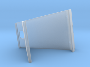 Tablet Stand in Smooth Fine Detail Plastic