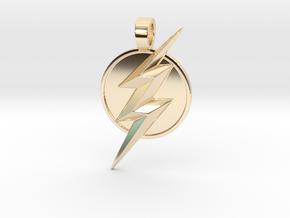 Flash pendant in 14K Yellow Gold