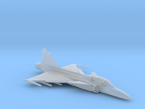 Saab Gripen 1/285 scale in Smoothest Fine Detail Plastic