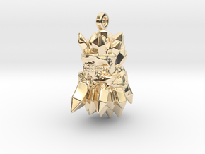 Barbatos in 14k Gold Plated Brass