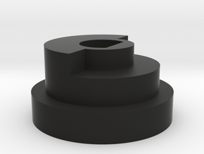 Futaba 4PL Steering Wheel Adapter - SLW compatible in Black Strong & Flexible