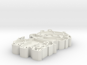 Snuffles Badge in White Natural Versatile Plastic