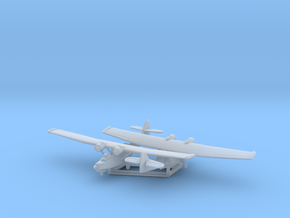 PBY-5A & 6A w/Gear x2 (FUD) in Smooth Fine Detail Plastic: 1:700