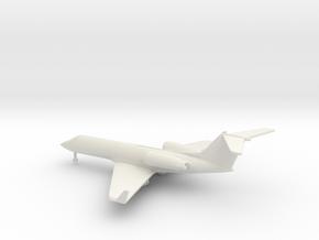 Gulfstream G-IV (G400) in White Natural Versatile Plastic: 1:400