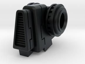 Stormwave Dorsal Missile Array Support in Black Hi-Def Acrylate: d4