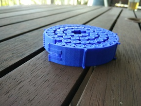 Orion Magazine Coaster in Blue Processed Versatile Plastic