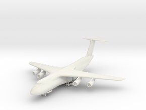 C-5 w/Gear in White Natural Versatile Plastic: 1:350