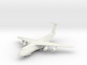 1/350 C-5 w/Gear in White Natural Versatile Plastic