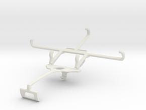 Controller mount for Xbox One S & Allview Viper L  in White Natural Versatile Plastic