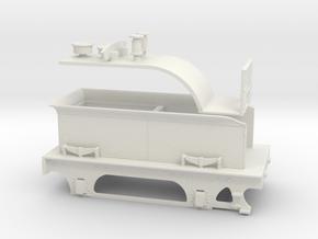 Cambrian 'Albion' SPC Tender - WSF in White Natural Versatile Plastic