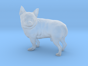 Scanned Chihuahua Dog -892 in Smooth Fine Detail Plastic