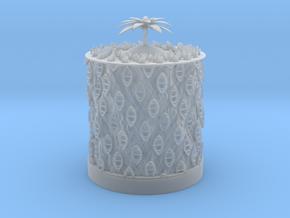Ocean Bloom zoetrope in Smooth Fine Detail Plastic