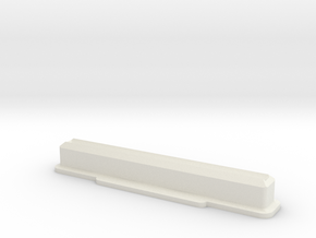 Super Nintendo/Super Famicom Cartridge Dust Plug in White Natural Versatile Plastic