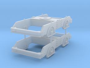 KLJ bogie  in Smooth Fine Detail Plastic: 1:45