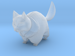 cute cat in Smooth Fine Detail Plastic: 6mm