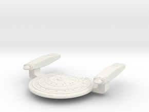 Scout Star Ship in White Natural Versatile Plastic