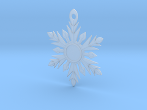 Snowflake for Becca in Smooth Fine Detail Plastic