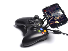 Xbox 360 controller & QMobile Noir Z8 - Front Ride in Black Natural Versatile Plastic