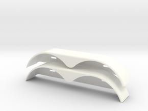 XS59619-01 Xtra Speed 1/10 Scale Trailer Fender in White Processed Versatile Plastic