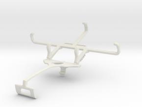 Controller mount for Xbox One S & Celkon Millennia in White Natural Versatile Plastic