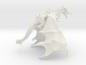 """Dragon """"A1"""" in White Natural Versatile Plastic"""
