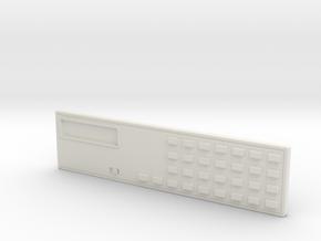 Classic BSG Flight Computer 5804 in White Natural Versatile Plastic
