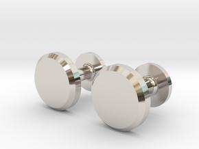 Milnerfield Hawking Cufflinks - Pair in Platinum