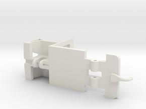 DAF A10 Floor V3 in White Natural Versatile Plastic