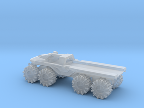 All-Terrain Vehicle with open cargo bed in Smooth Fine Detail Plastic