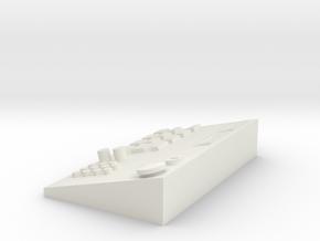 Fahrpult 1/14 in White Natural Versatile Plastic: 1:14