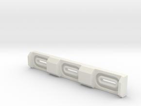 ESB FT Wire Block in White Natural Versatile Plastic