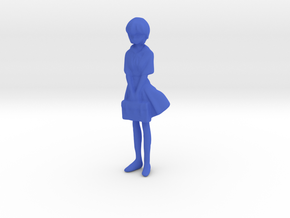 1/24 School Uniform Girl in Blue Processed Versatile Plastic