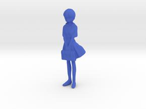1/24 School Uniform Girl in Blue Processed Versatile Plastic