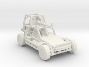 Fast Attack Vehicle V1 1:160 scale in White Natural Versatile Plastic
