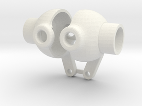 YOTA AXLE KNUCKLES in White Strong & Flexible